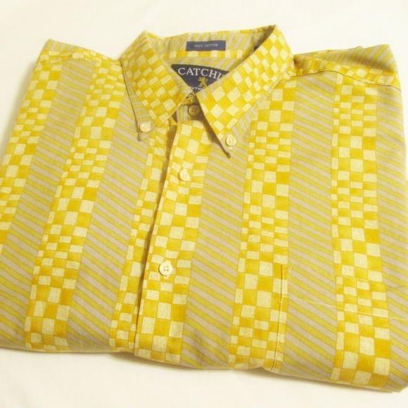 Catchit Other - CATCHIT Authentic Vintage 90s Mens Casual Shirt XL
